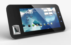 7 Inch Tablet PC with Biometric Fingerprint Sensor and Nfc Scanner