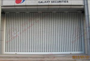 Aluminium Motorised Roller Shutter Door (BH-SD24) pictures & photos