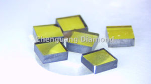 100 Orientation High Quality Mono Crystal Diamond Plates pictures & photos