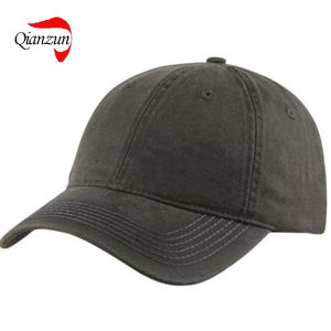 Customed Curve Baseball Hats Black New pictures & photos