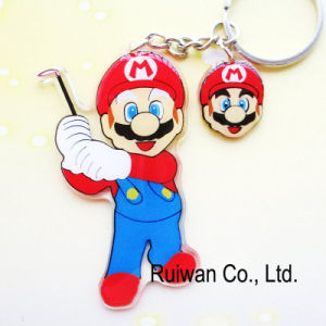 Wholesale Acrylic Cartoon Keyring (KCA098) pictures & photos
