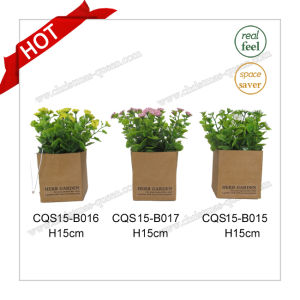H15cm Artificial Wedding Indoor Decoration Cherry Blossom Artificial Tree pictures & photos