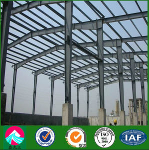 Portal Frame Sanwich Panel Wall Steel Structure Warehouse pictures & photos