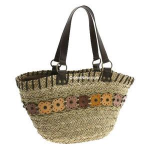 Seagrass Straw Beach Bag