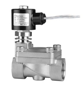 Steam Solenoid Valve - 2/2-Way Pilot Perated High (Low) Temperature (SLB) pictures & photos