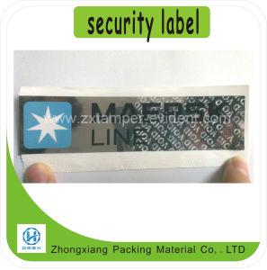 Tamper Security Void Label