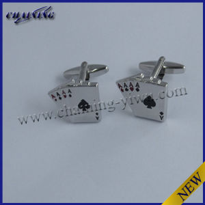 Poker Card Game Ace Cufflinks