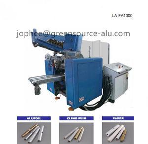 Automatic Aluminum Foil Roll Rewinding Machine pictures & photos