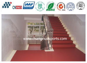 Simple Construction Seamless Roll Coating Flooring for School Passageway pictures & photos