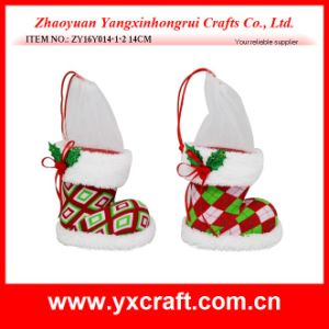 Christmas Decoration (ZY16Y014-1-2 14CM) Christmas Gird Design pictures & photos
