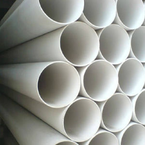 Low Cost Water Drainage PVC Plastic Pipe pictures & photos