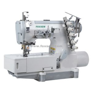 Direct Drive Flatbed Interlock Sewing Machine for Under Wear pictures & photos