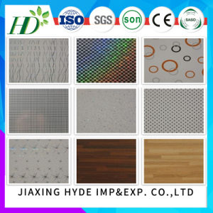 7.5*250mm Width Hot-Stamping PVC Panel PVC Ceiling PVC Wall Panel Waterproof Material Decor Panel pictures & photos