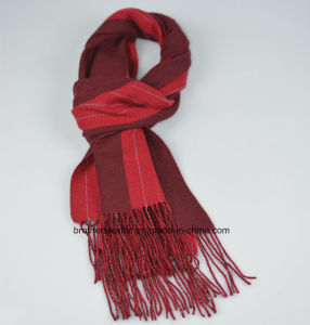Cashmere and Wool Scarf H16-03 pictures & photos