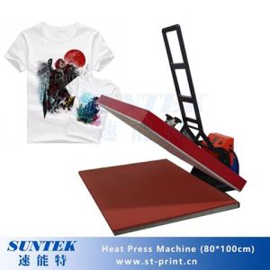 80*100 Hot Sale Digital Tshirt Heat Press Transfer Machine pictures & photos