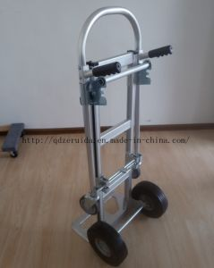 Ultrahigh 2 in 1 Convertible Aluminum Hand Trolley pictures & photos