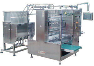 Dxdo-J900e Catsup Four Side Sealing & Multi-Line Packing Machine pictures & photos