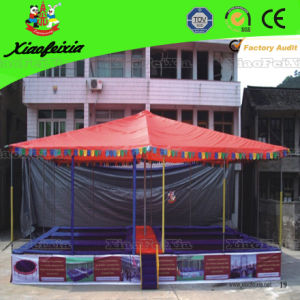 Outdoor Trampoline with Sun Cover (LG034) pictures & photos