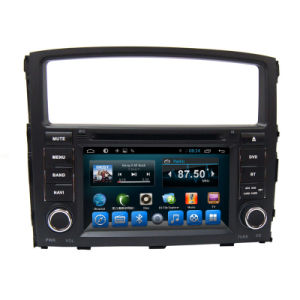 Double DIN DVD Player for Car Mitsubishi Pajero
