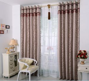 Yarn Dyed Flax Fabric Curtain Decorative Fabric (MX-166) pictures & photos