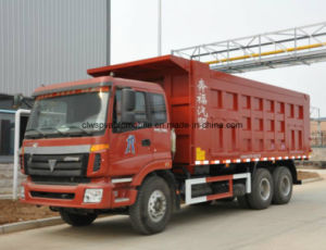 Foton 6X4 Dump Lorry 28t Heavy Duty Tipper Truck Price pictures & photos