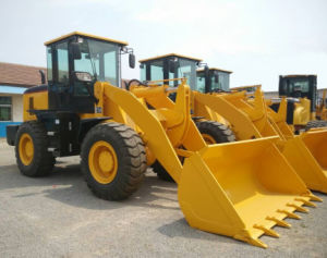 China 3ton Hydraulic Front Wheel Loader pictures & photos