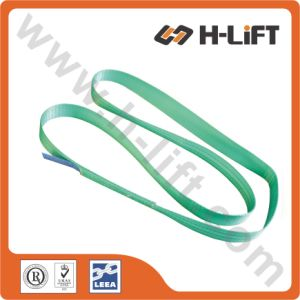 One Way Round Polyester Endless Lifting Webbing Sling pictures & photos
