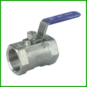 Inside Screw Ball Valve One Piece- Ball Valve pictures & photos