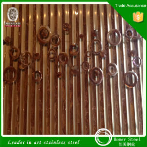 Sheet Metal Fabrication Stainless Steel Folding Screen Room Divider From China pictures & photos