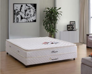 Economical Pillow Top Bonnel Spring Mattress (MA06) pictures & photos