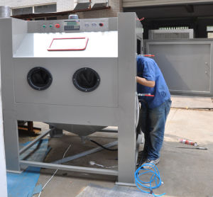 Clean Equipments Sand Blast Cabinet pictures & photos