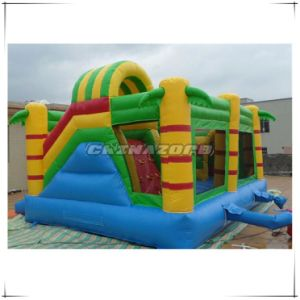 New King-Kong Funny Gorilla Inflatable Bouncer Slide Combo Top Quality pictures & photos