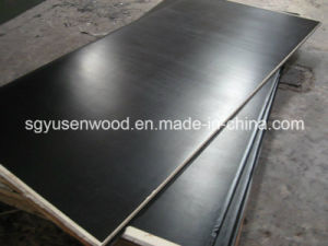 9mm 12mm 14mm Black Film Faced Plywood pictures & photos