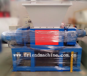 Double-Shaft Waste Plastic Shredder Machine pictures & photos