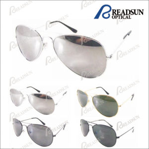 Promotion Metal Sunglasses with Mirror Sun Glasses pictures & photos