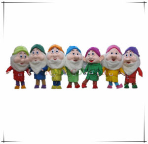 Really Popular Seven Dwarfs Mascot Cartoon Costume