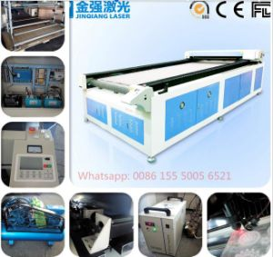 Automatic Feed Fabric Leather Cutting Machine for Garment Sofa pictures & photos