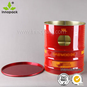 Metal Tin Storage Bucket for Household Appliances pictures & photos