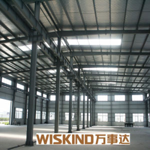 Wiskind ISO 9001 Wide Span Steel Building pictures & photos