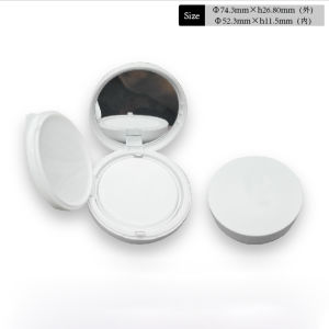 Unique Design Plastic Compact Powder Case pictures & photos