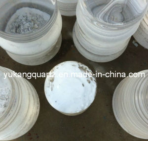 Clear Quartz Glass Ingot Rod/Tube with Large Diameter (YKR-023) pictures & photos