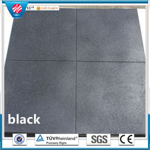 Square Rubber Tile/Colorful Rubber Paver/Playground Rubber Flooring pictures & photos