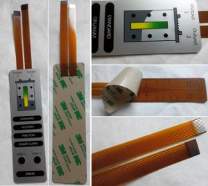 Flexible Printing Circuit FPC Membrane Switch with LED Backlighting pictures & photos