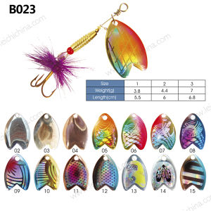 Popular Metal Fishing Spinner Lure pictures & photos