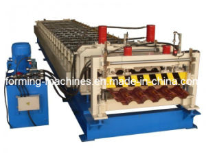 Glazed Tile Forming Machine Step Tile Roofing Machine Roll Forming Machine Roof Panel Machine Forming Machine Roll Forming Machine Roof Panel Machine pictures & photos