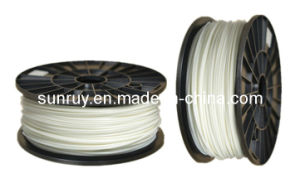 ABS 3.0mm White 3D Filament for 3D Printer pictures & photos