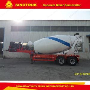Sinotruk 27cbm Concrete Mixer Semi Trailer pictures & photos