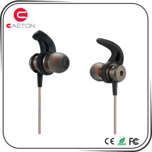OEM Branding 3.5mm Jack Metal Earphone with Cable pictures & photos