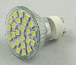 5050 24PCS 3.5W GU10 AC85-265V/12V LED Spotlight pictures & photos
