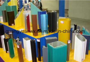 Aluminum Extruded Powder Coated Profile Tube/Pipes pictures & photos